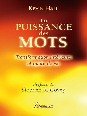 cover image of La puissance des mots