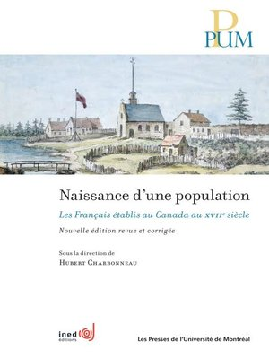 cover image of Naissance d'une population