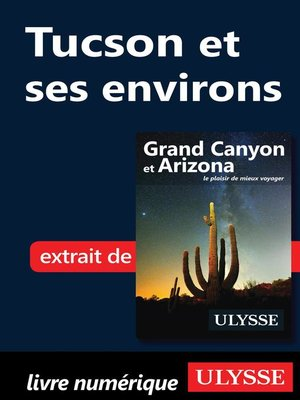 cover image of Tucson et ses environs