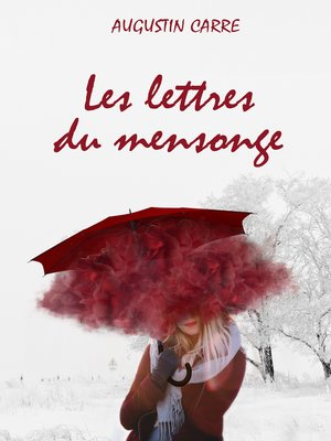cover image of Les lettres du mensonge