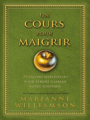 cover image of Un cours pour maigrir