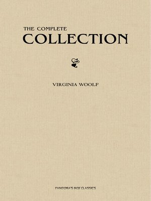 cover image of Virginia Woolf: The Complete Collection