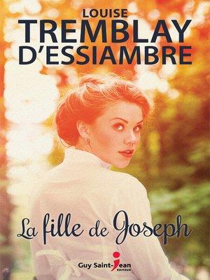 cover image of La fille de Joseph