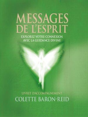 cover image of Messages de l'esprit