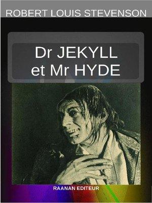 cover image of L'ÉTRANGE CAS DU DOCTEUR JEKYLL ET DE M. HYDE