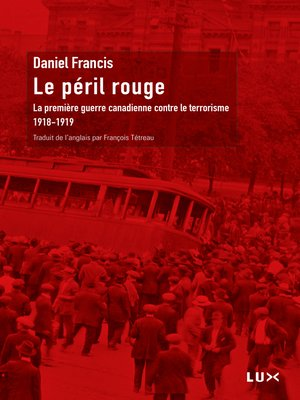 cover image of Le péril rouge