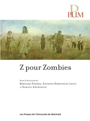 cover image of Z pour Zombies