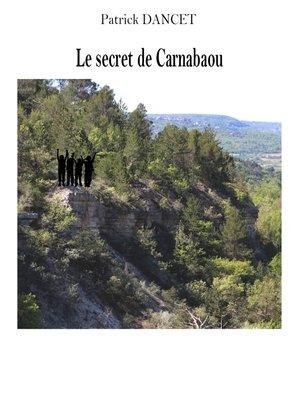 cover image of Le secret de Carnabaou
