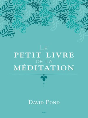 cover image of Le petit livre de la méditation