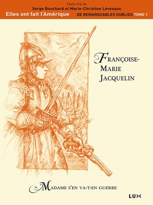 cover image of Françoise-Marie Jacquelin