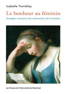 cover image of Le bonheur au féminin