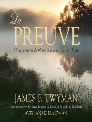 cover image of La preuve