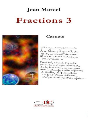 cover image of Fractions 3