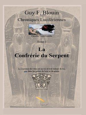 cover image of La confrérie du serpent