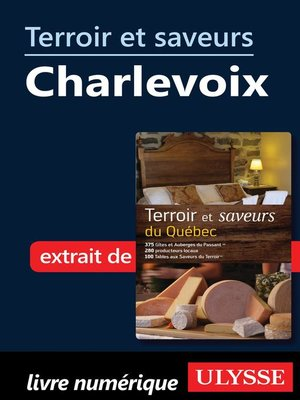 cover image of Terroir et saveurs--Charlevoix