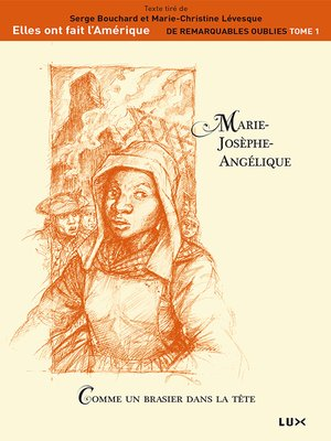 cover image of Marie-Josèphe-Angélique