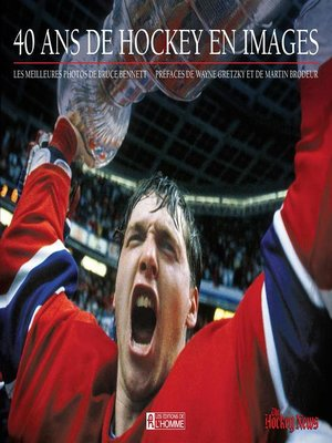 cover image of 40 ans de hockey en images