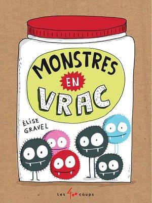 cover image of Monstres en vrac