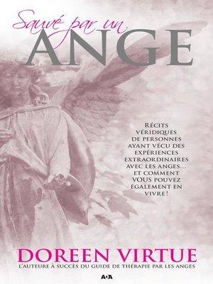 cover image of Sauvé par un ange