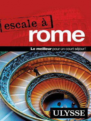 cover image of Escale à Rome