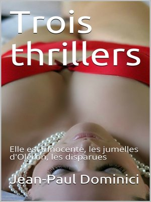 cover image of Trois thrillers