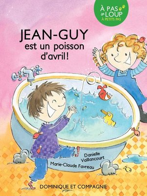cover image of Jean-Guy est un poisson d'avril !