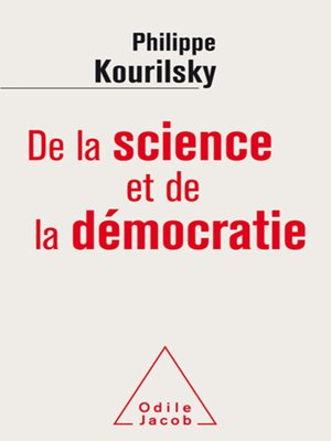 cover image of De la science et de la démocratie