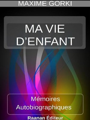 cover image of MA VIE D'ENFANT