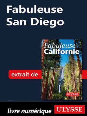 cover image of Fabuleuse San Diego
