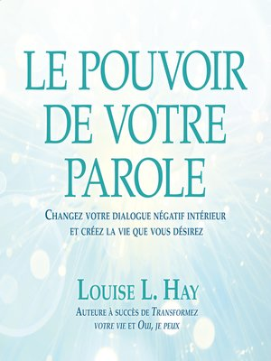 cover image of Le pouvoir de votre parole