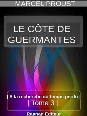 cover image of LE CÔTÉ DE GUERMANTES