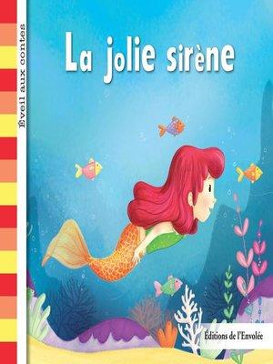 cover image of La jolie sirène