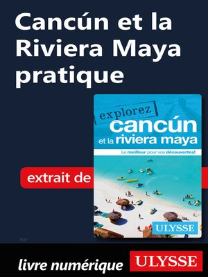 cover image of Cancún et la Riviera Maya pratique