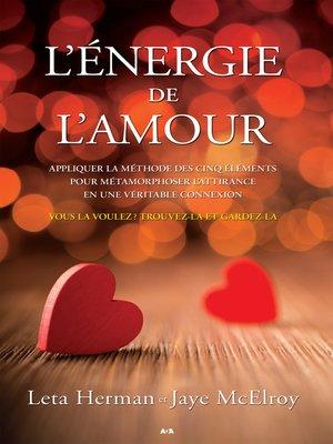 cover image of L'énergie de l'amour