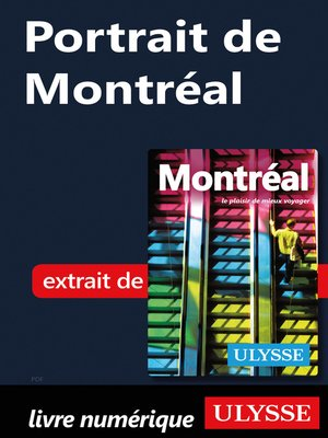 cover image of Portrait de Montréal