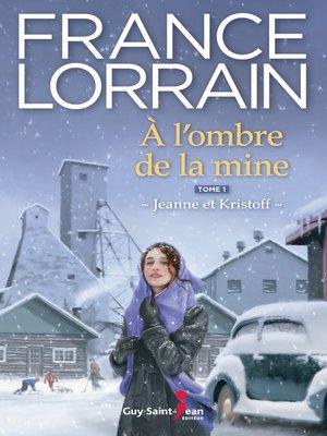 cover image of À l'ombre de la mine