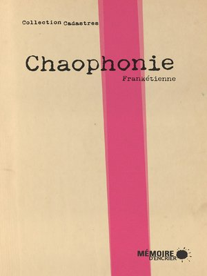 cover image of Chaophonie