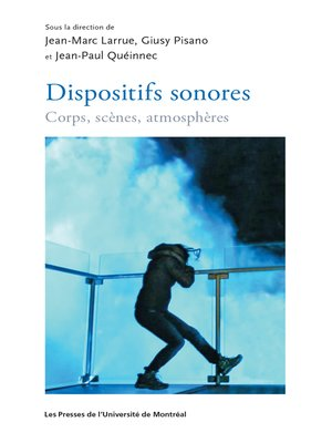 cover image of Dispositifs sonores