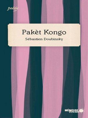 cover image of Pakèt Kongo