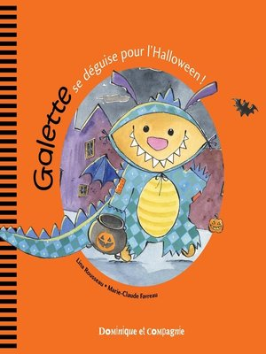 cover image of Galette se déguise pour l'Halloween !