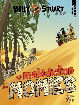 cover image of La malédiction des momies