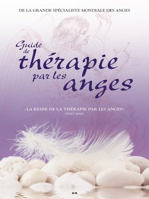 cover image of Guide de thérapie par les anges