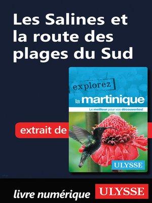 cover image of Martinique--Les Salines et la route des plages du Sud