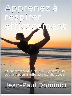 cover image of Apprenez à respirer efficacement