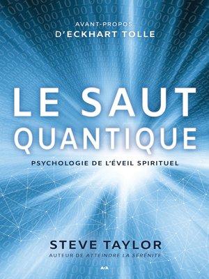 cover image of Le saut quantique