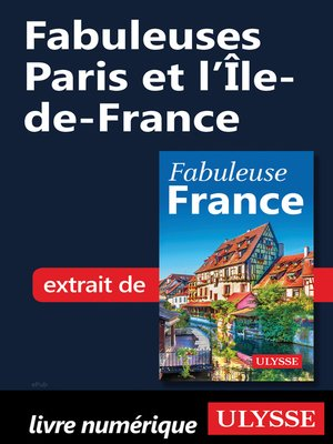 cover image of Fabuleuses Paris et l'Île‑de-France