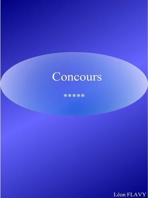 cover image of CONCOURS SOUS OFFICIER GENDARMERIE***