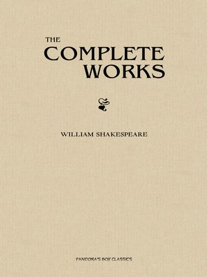 cover image of The Complete Works of Shakespeare