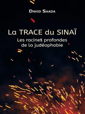 cover image of La trace du Sinaï