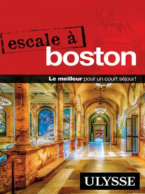 cover image of Escale à Boston